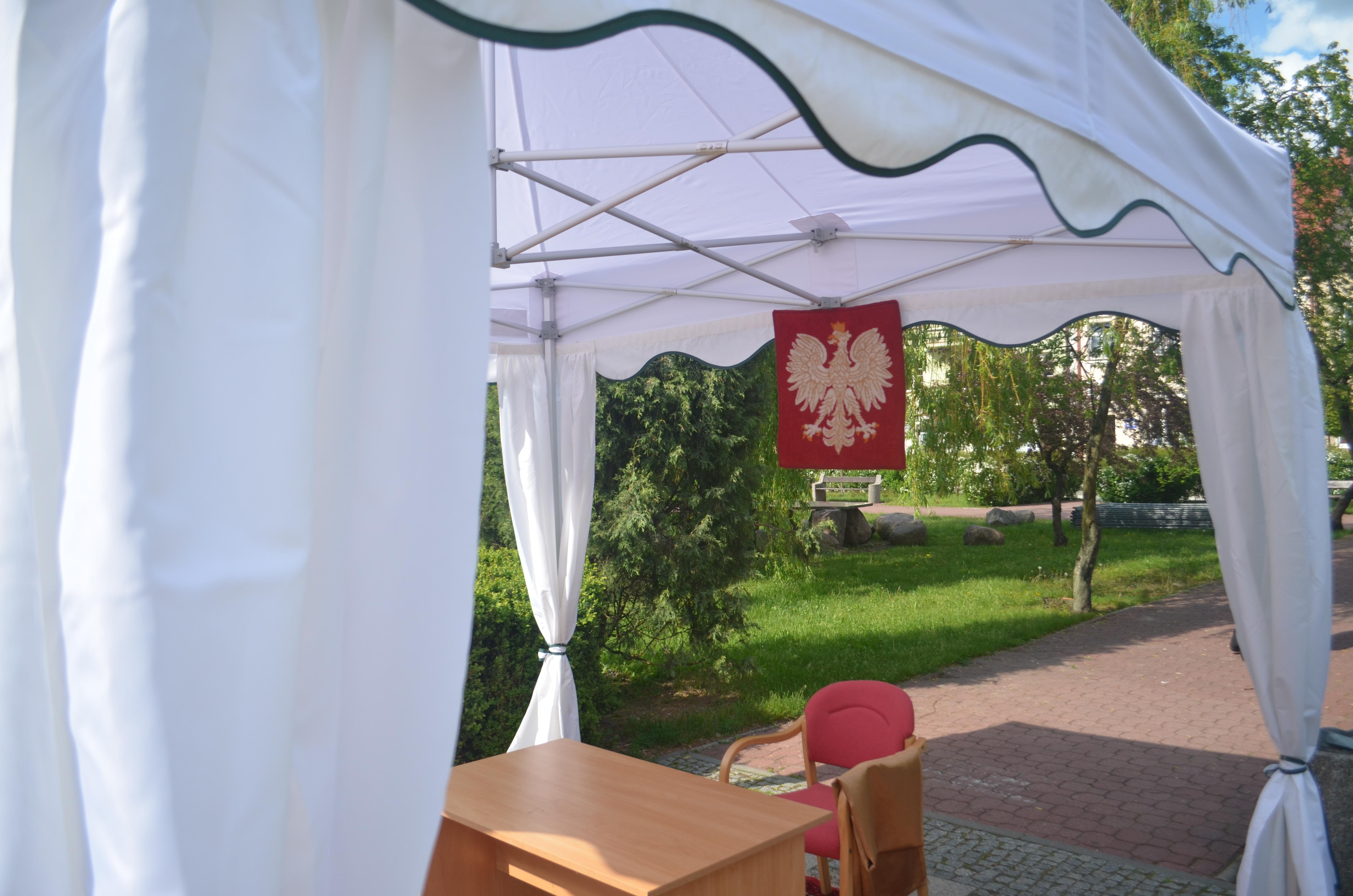 Baldachim VB 3x3m - wynajem namiotów weselnych