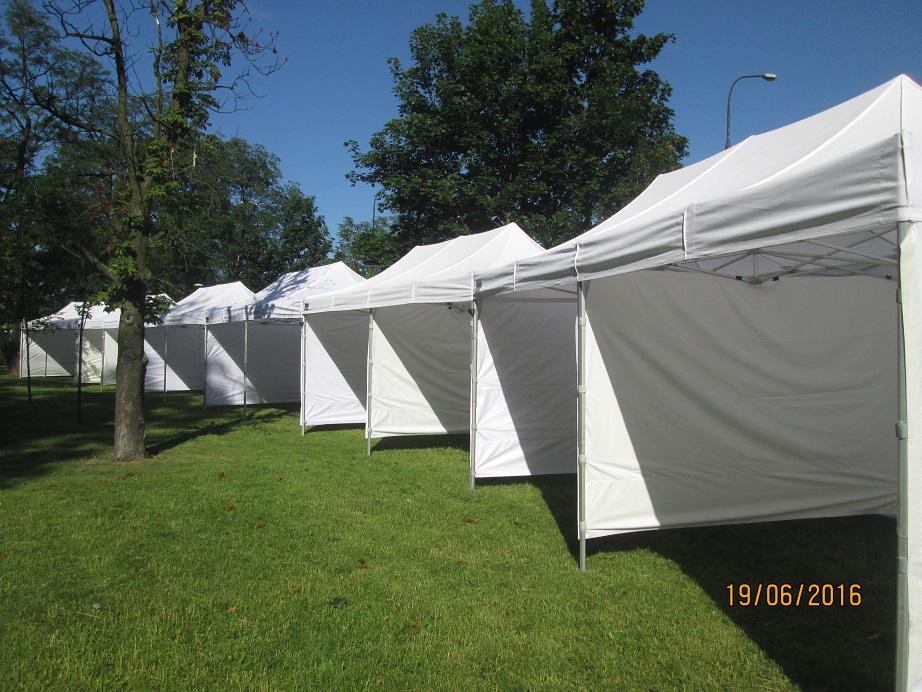 wynajem namiotów - oferta